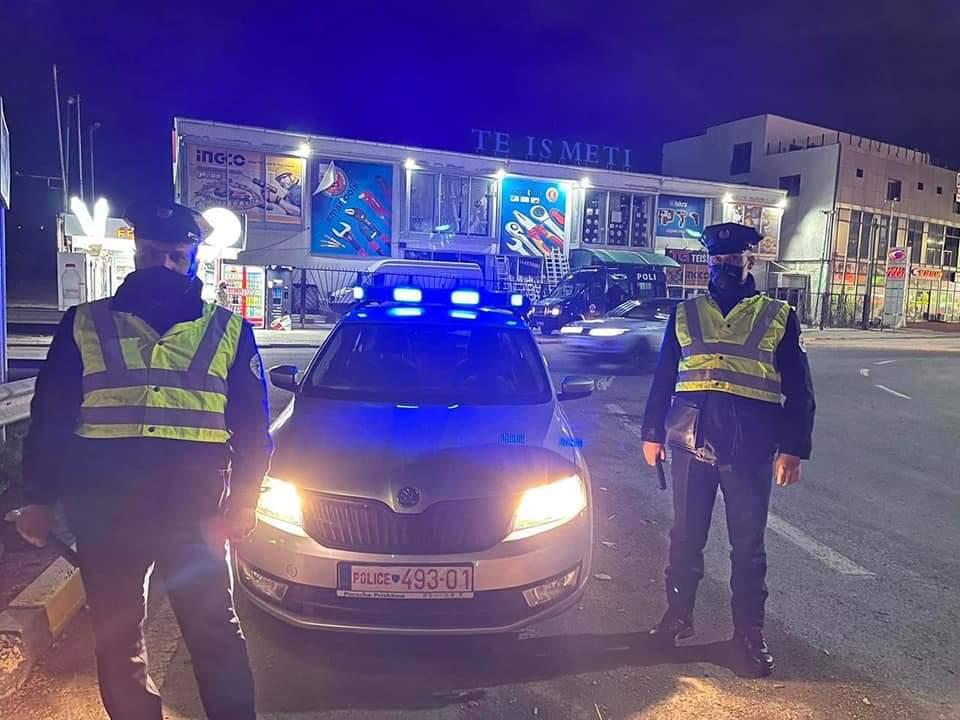 Kufizimi i lëvizjes, Policia e Kosovës e angazhuar 24/7