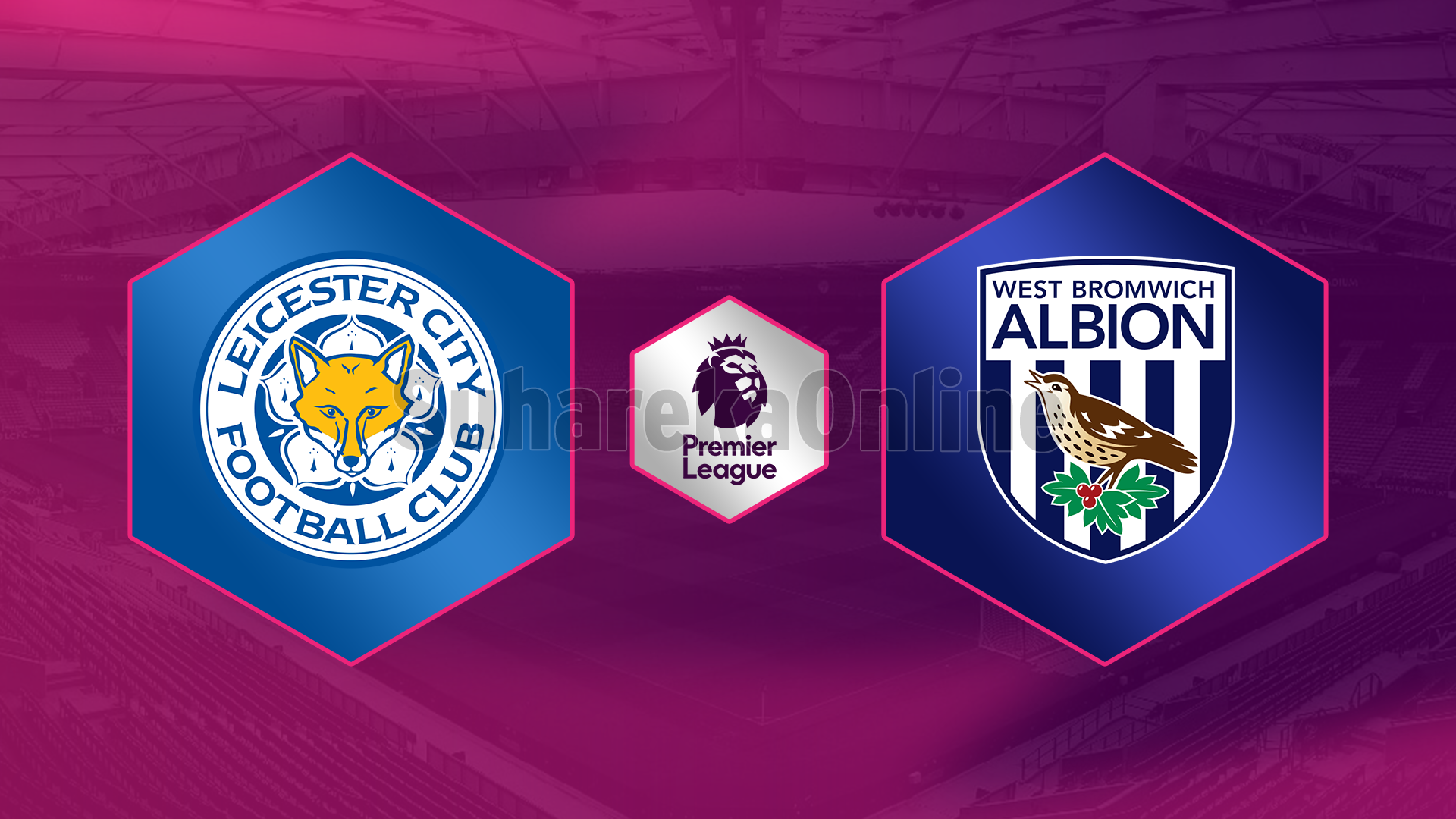 Leicester City – West Bromwich Albion, formacionet zyrtare
