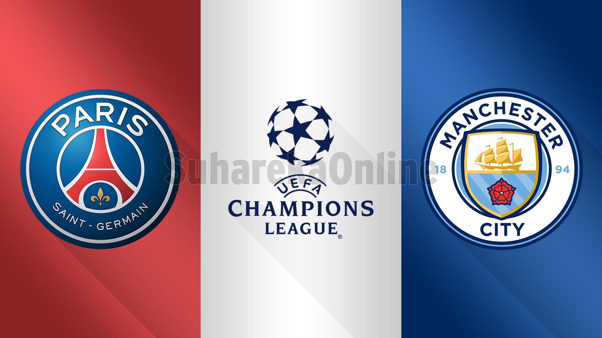 Champions League, PSG – Man City, formacionet e mundshme