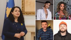 Artistët shqiptarë urojnë Vjosa Osmanin pasi u zgjodh Presidente e Kosovës
