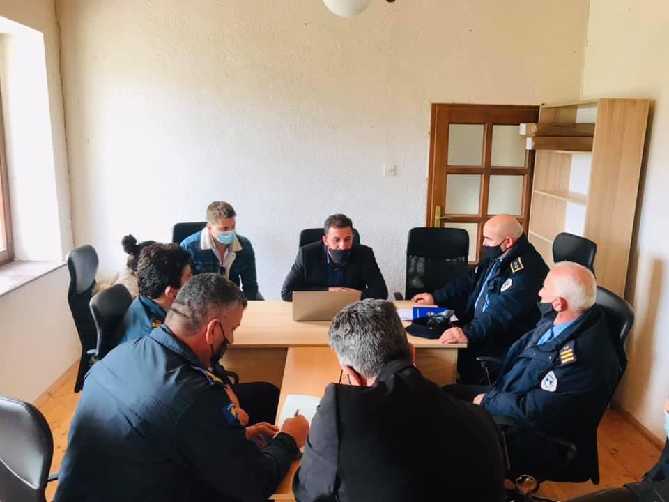 Hapet zyra e komunitetit lokal për siguri publike në Bukosh