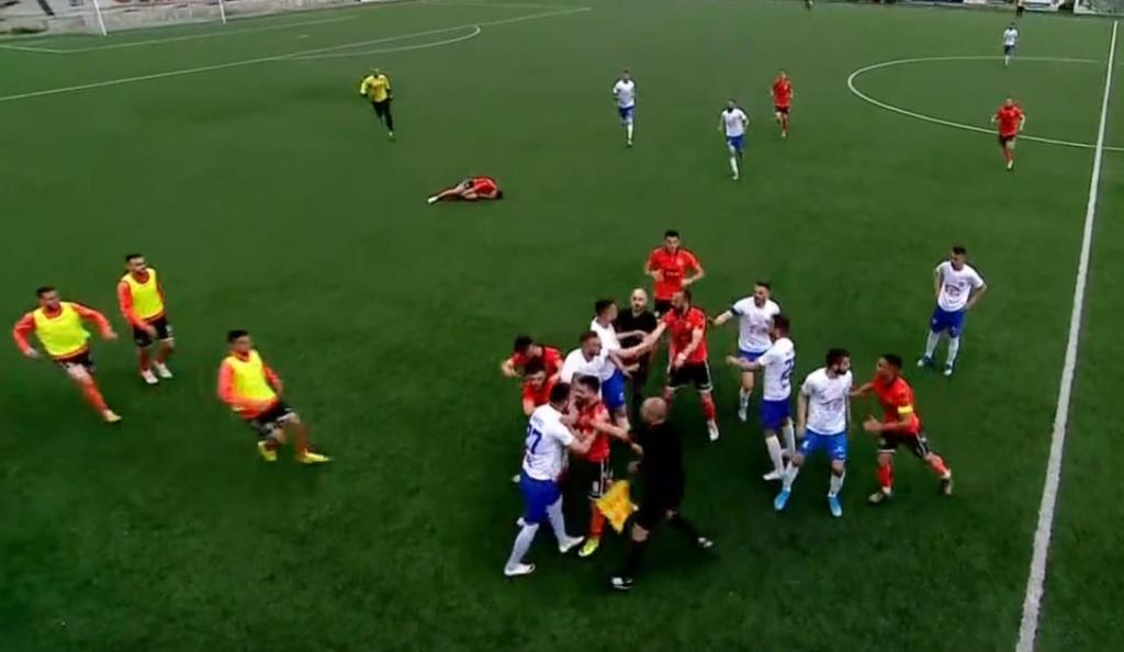 Lojtarët e Ballkanit dhe Llapit përfundojnë në disiplinë pas përleshjes në Suharekë