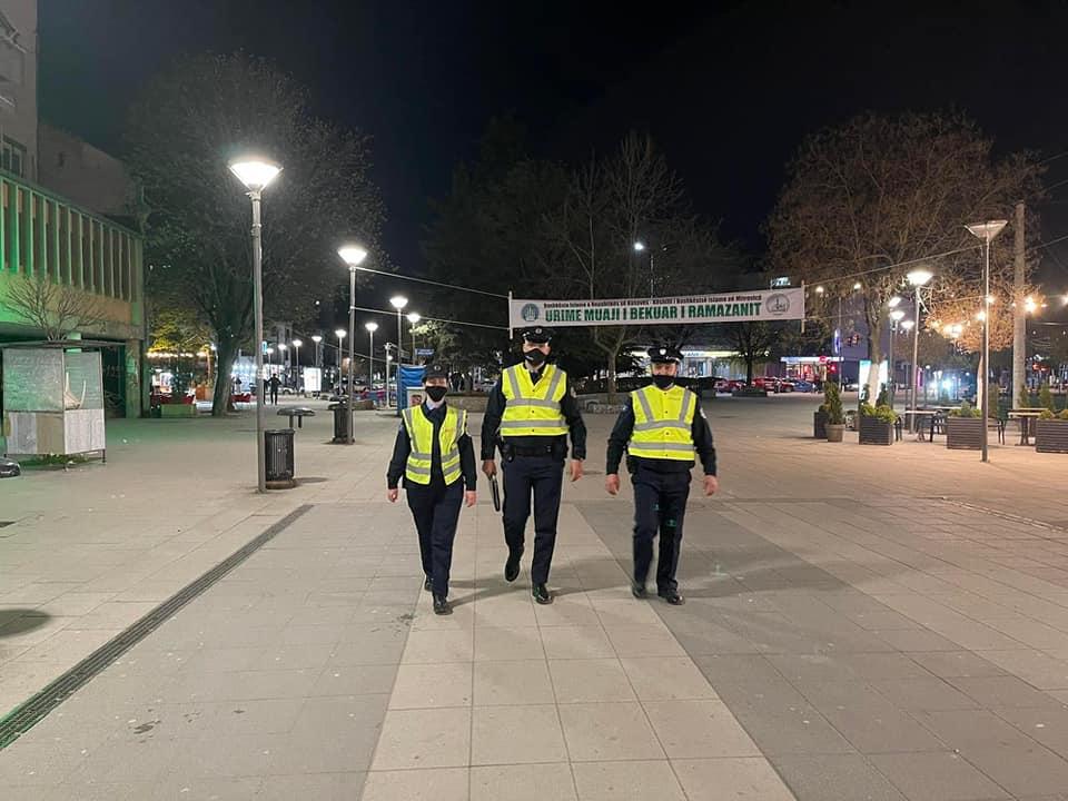 Policia e Kosovës vazhdon me planin operativ për zbatim të masave anti-COVID-19