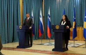 Presidentja Osmani: Kufijtë e Kosovës janë përcaktuar në vitin 2008