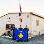 Ushtarët e FSK'së zbarkojnë në Kuvajt së bashku me ushtrinë amerikane