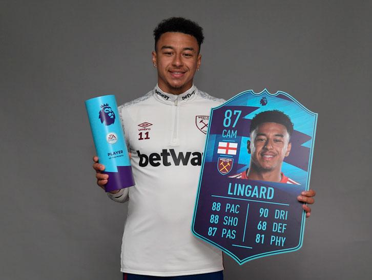 Lingard shpallet lojtari më i mirë i muajit prill në Premierligë