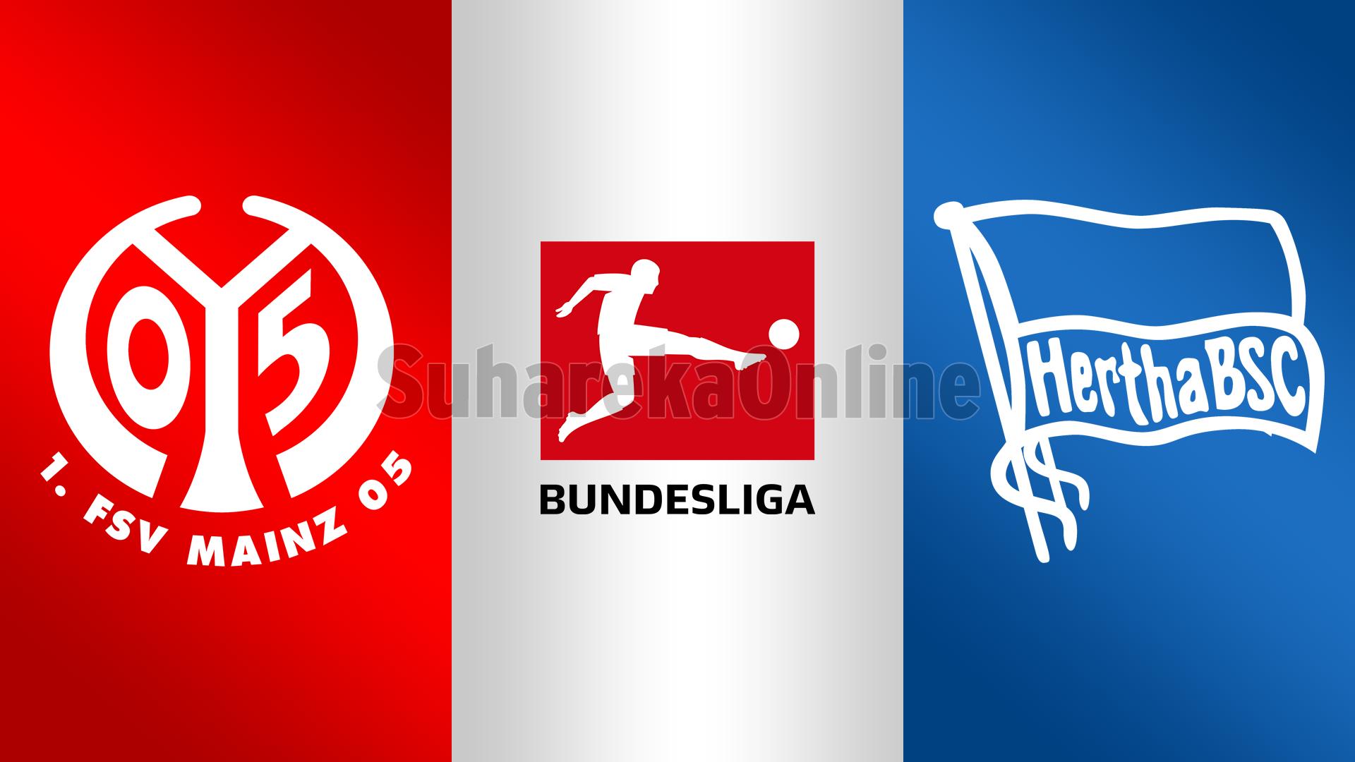 Bundesliga, Mainz – Hertha Berlin, formacionet e mundshme