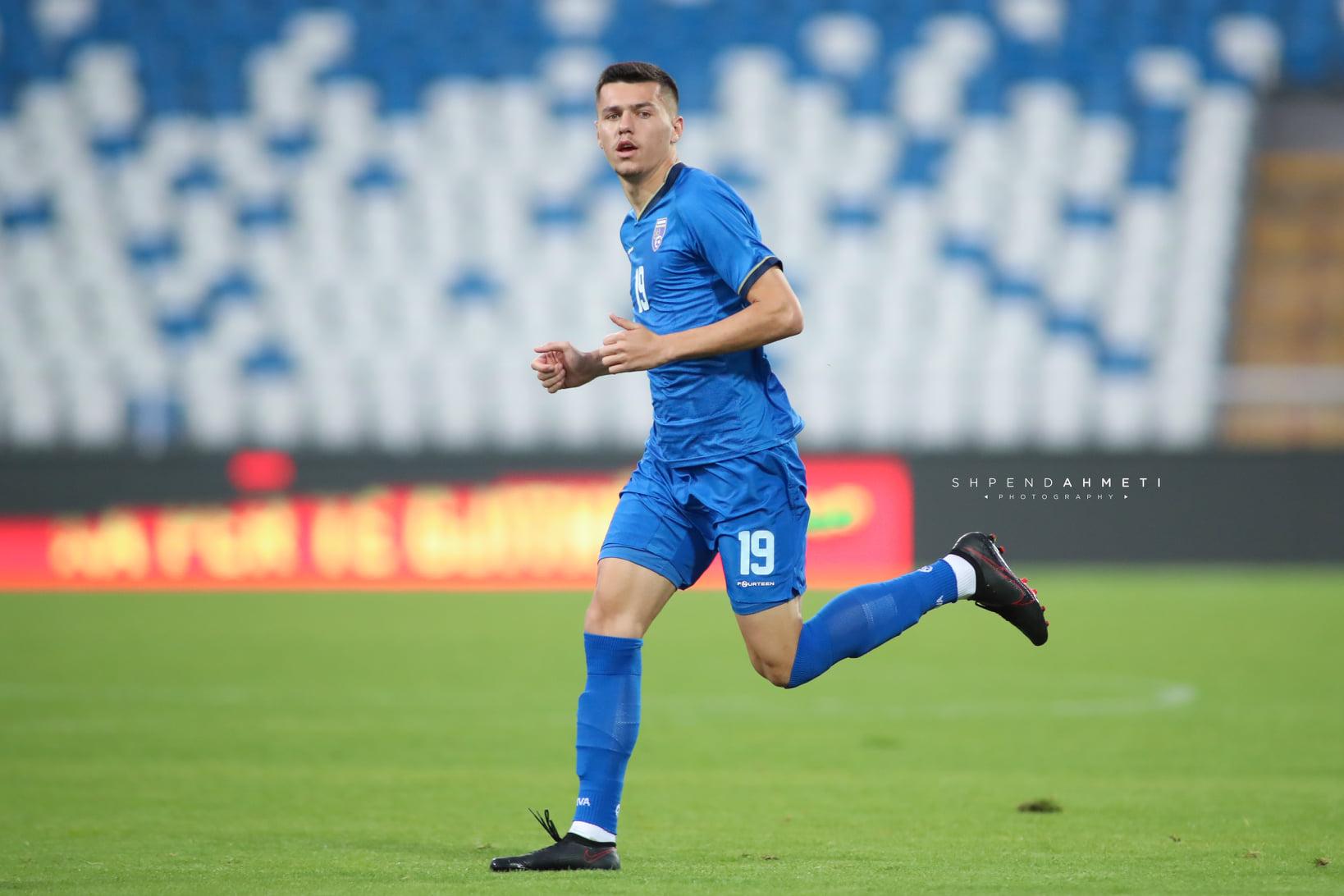 Rekordmeni i Superligës, Mirlind Daku me fanellën e kombëtares së Kosovës