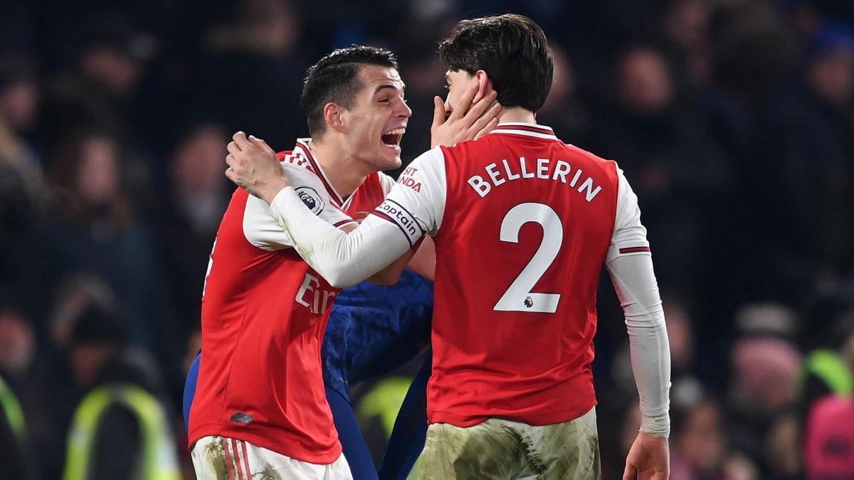Arsenali afër shitjeve të Granit Xhakës dhe Hector Bellerin