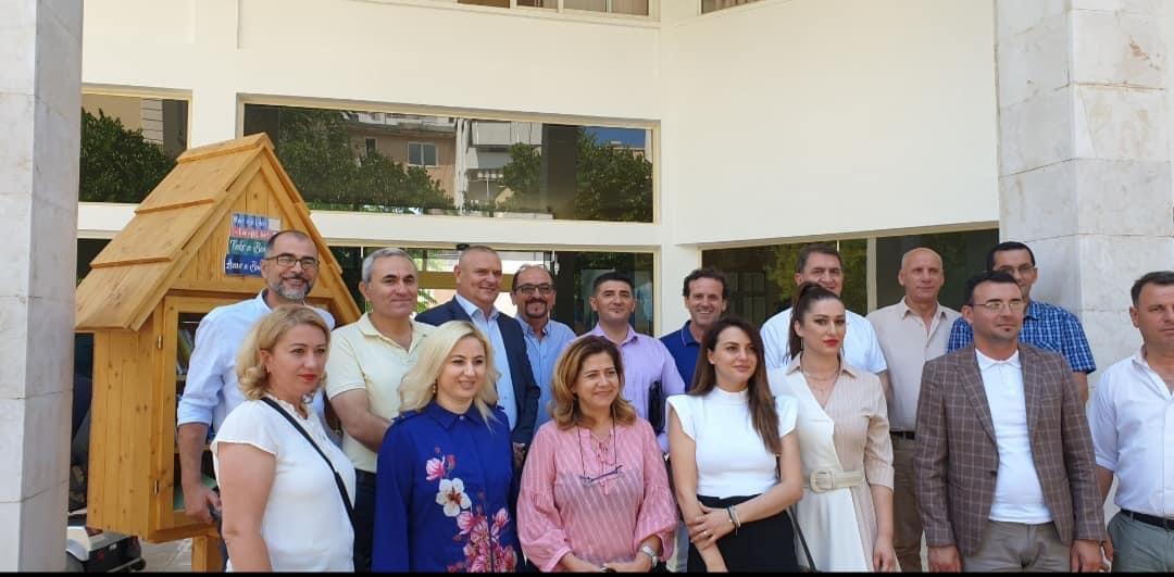 Asambleistët e Suharekës në vizitë pune në Sarandë