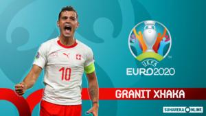 Granit Xhaka gati për EURO2020, paralajmëron Uellsin