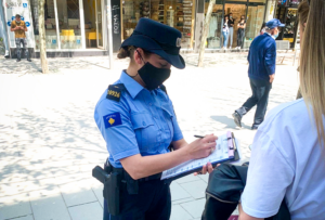 Policia dënon afër 400 qytetarë për mosrespektim të masave anti-COVID