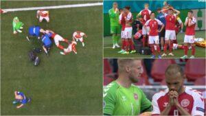 Suspendohet ndeshja Danimarkë – Finlandë, pas rrëzimit pa ndjenja të Eriksen në fushë